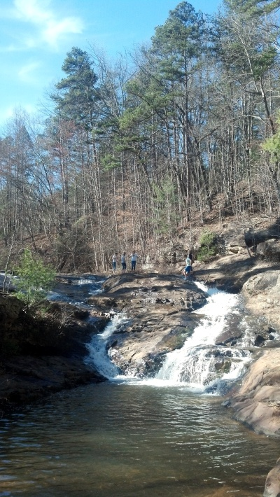 The Little Falls at Toccoa